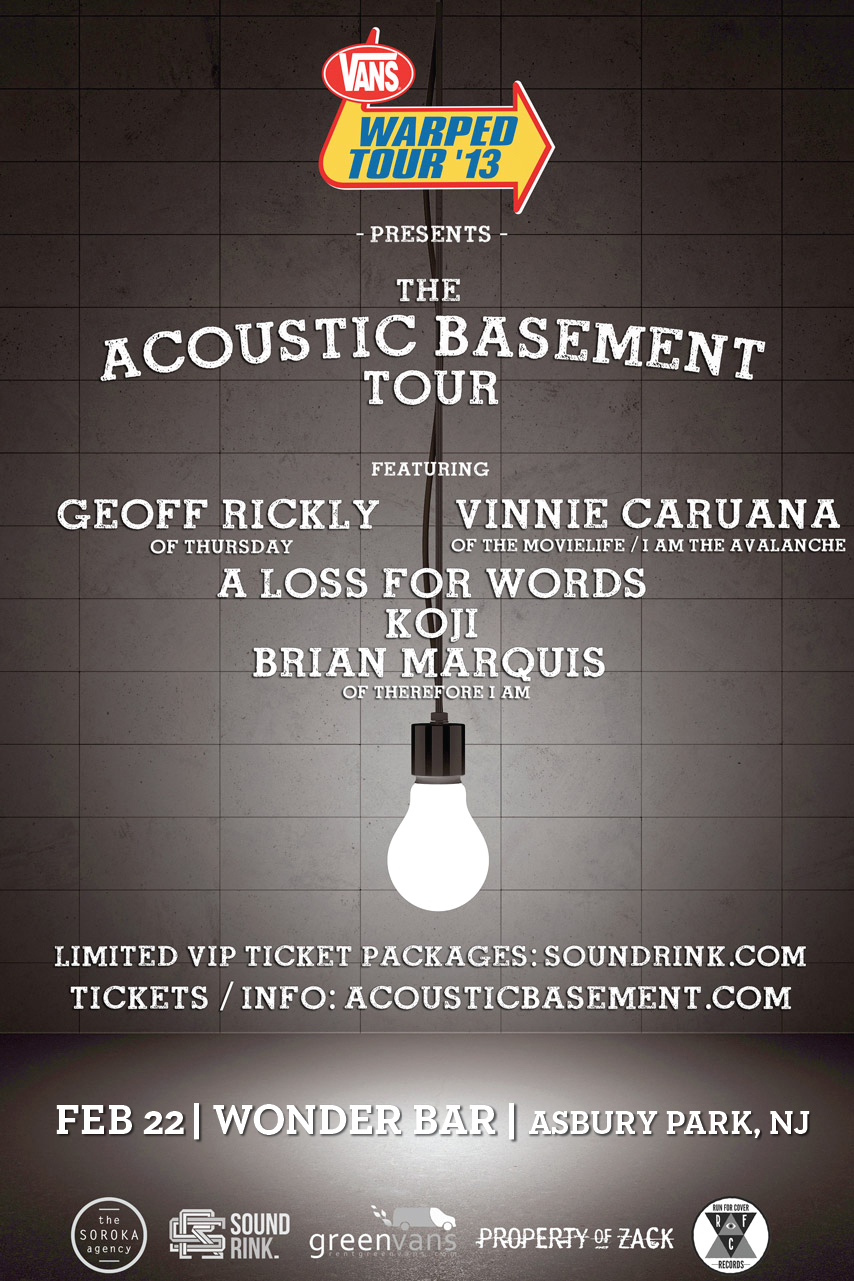 Acoustic Basement Tour