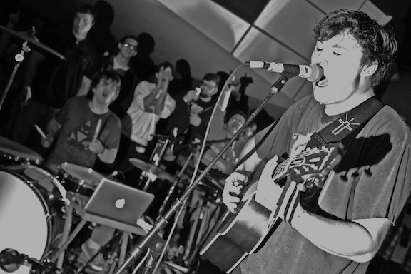 The Front Bottoms @ Asbury Lanes (Photo: Chris Rotolo)