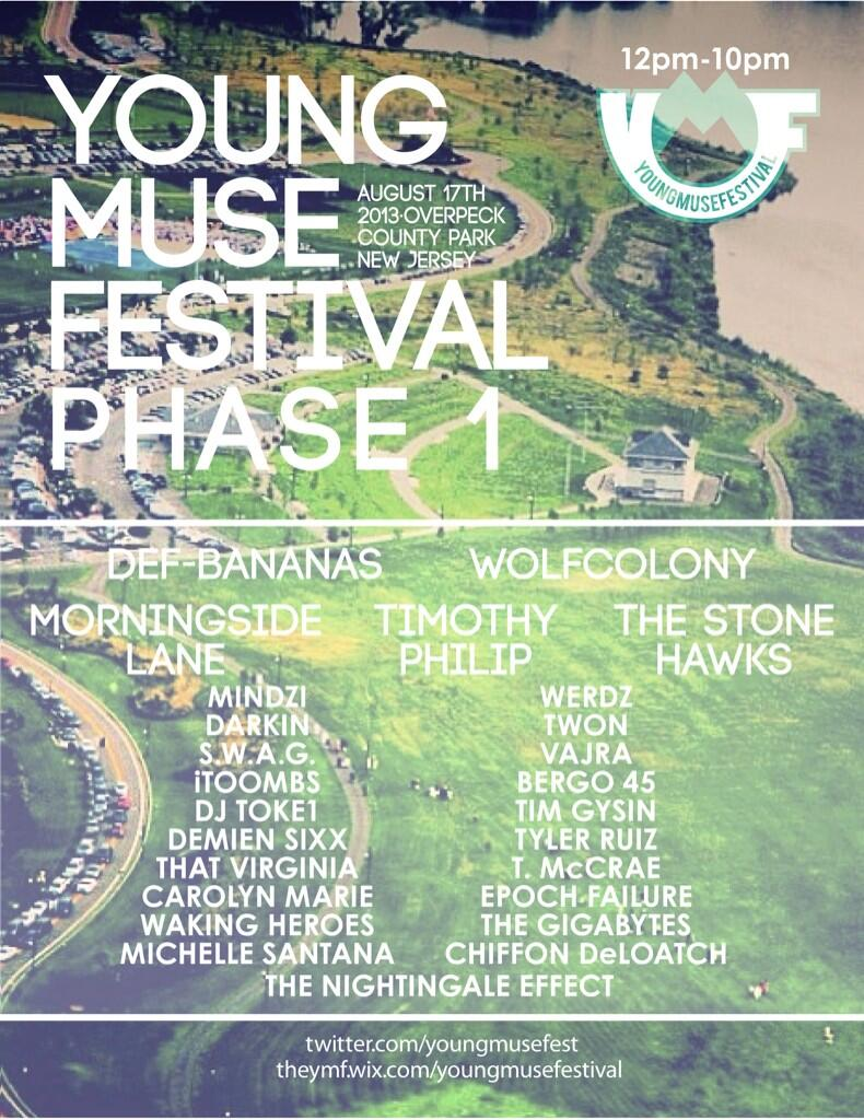 Speak Into My Good Eye Bergen County's Young Muse Festival Announces