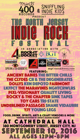 Proud To Sponsor: The North Jersey Indie Rock Festival
