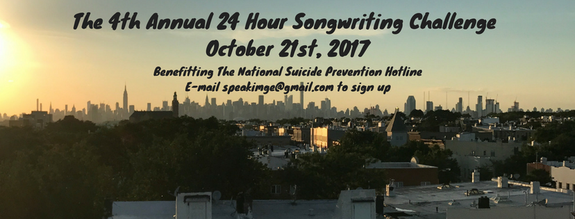 The 4th Annual 24 Hour Songwriting Challenge